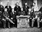 The Rochdale Principles were written by the original Rochdale Pioneers in 1844. Fonts: Manchester Libraries