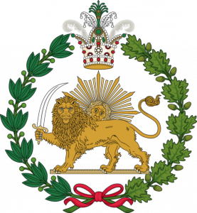 Emblema família reial persa