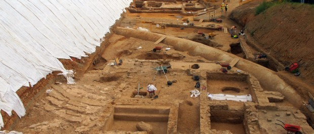 Vil·la romana de la Sagrera, font: web d'Adif
