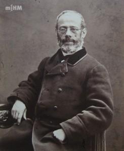 Retrat del doctor Pere Felip Monlau i Roca [Museu d'Història de la Medicina de Catalunya (MHM). Del web: http://www.galeriametges.cat/home.php