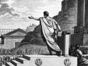 Gai Grac, parlant a la assemblea, gravat  de Silvestre David Mirys  (1799).