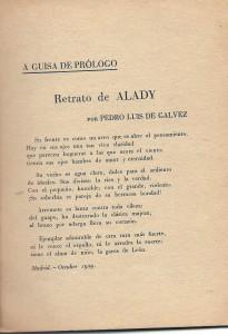 sonet dedicat alady